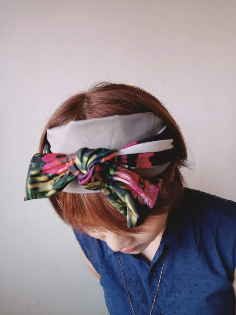 Tropical Striped Headband