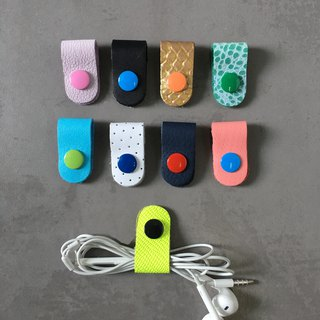 9 Genuine Leather Earphone Organize #11
