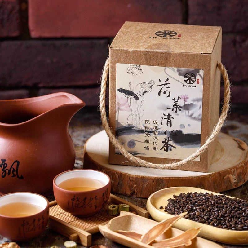 Lotus Leaf Qingxin Tea 2 Box Set
