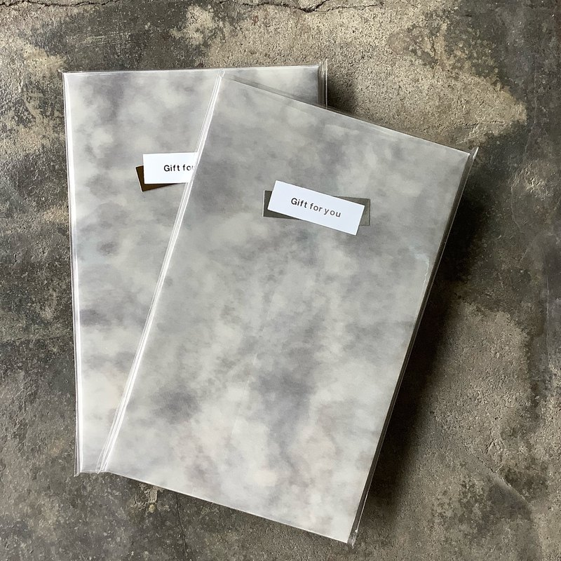 Envelope / Cloud Tracing Paper / Gray/5 In