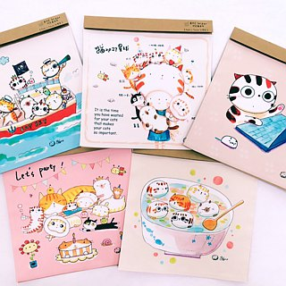 Illustrator Series Cat p - small fat cat busy sugar ll Wipes