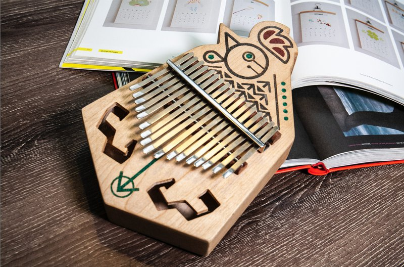 17 note kalimba- There'll be thousands more of me