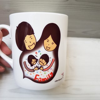 Bone China Mug - Family (custom)