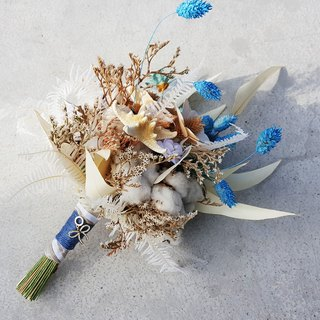 Dried flower bouquet jewelry [paragraph] cotton / Summer memories