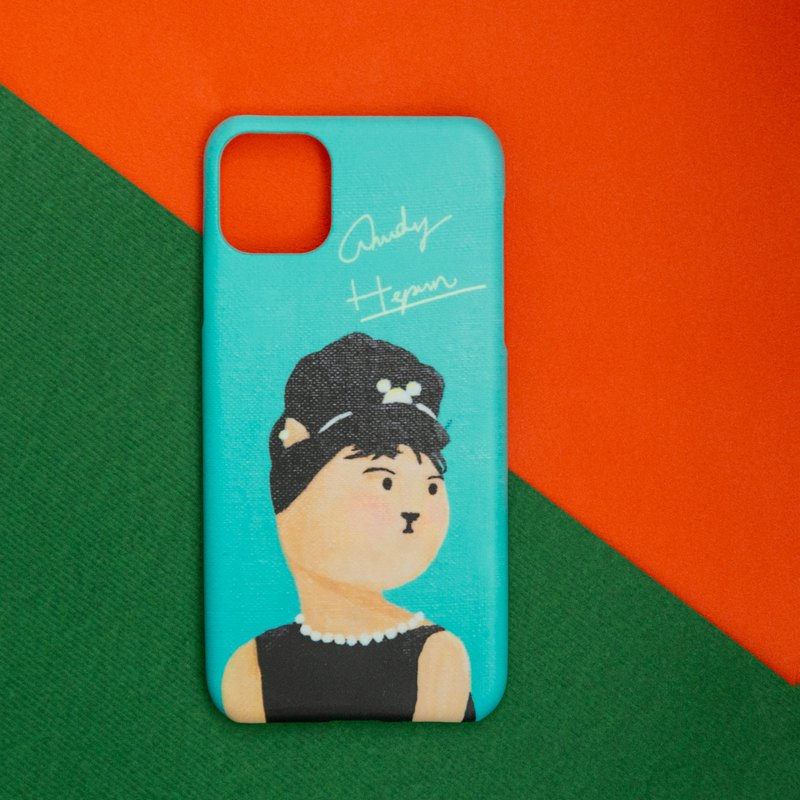 Audrey's Cat Phone case