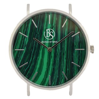 BOND STONE SHINE MALACHITE 40mm watch body only (belt optional)