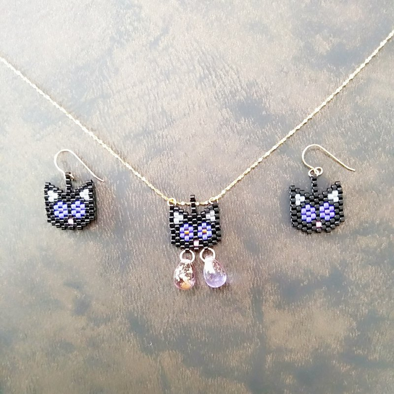 Mysterious Comet Earrings Necklace