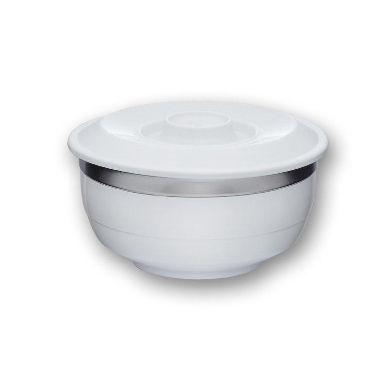 台箸 創意環保兩用碗(L) 1100cc 淨白