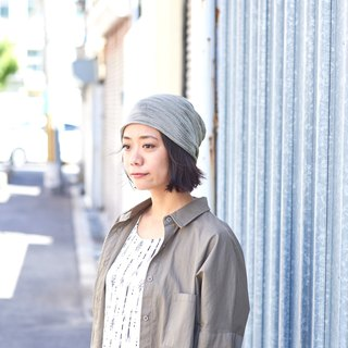 Made in JAPAN 100% Silk Beanie, No Seams, Slouchy Hat, Chemo Headwear