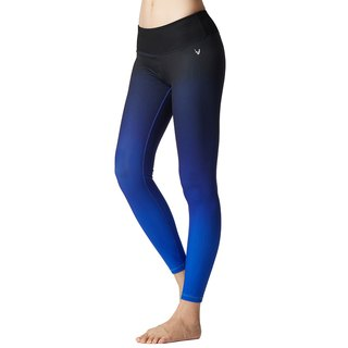 [MACACA] Halo Ningxin Seamless Cropped Pants - ATE7632 Royal Blue