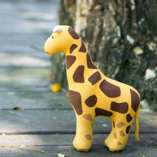 US Rubbabu Washable Natural Latex Toys - Giraffe - Biodegradable Infant Green Toys