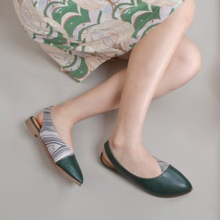 1695 Green Wave Handmade Shoes