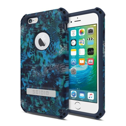 Military Class Quad Corner Crash Case / Case for iPhone 6 / 6s - Waves Poseidon-DILEX ™ x KRYPTEK Series