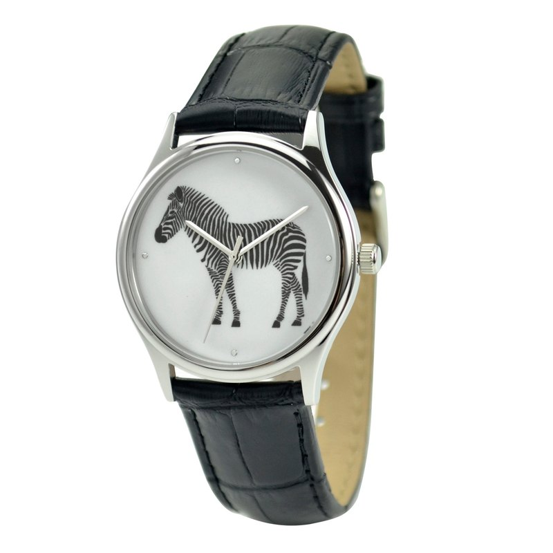 Christmas gift - Zebra Watch - Unisex - Free shipping worldwide