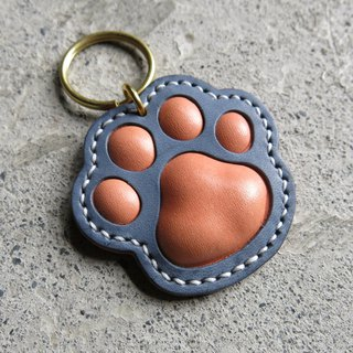 Healing meat ball key ring blue orange contrast color [LBT Pro]