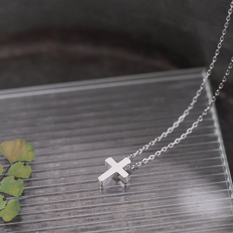 Cross Cross Necklace Silver 925