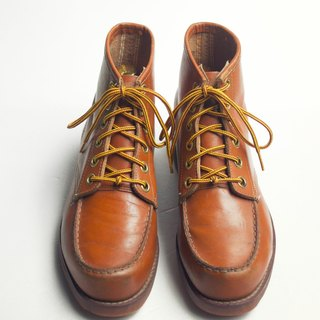 70s US-made leather work ankle boots | Sears Moc Toe Work Boots US 8D Eur 4041