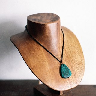 """Breath"" Turquoise Pendant Necklace Wulanhua"
