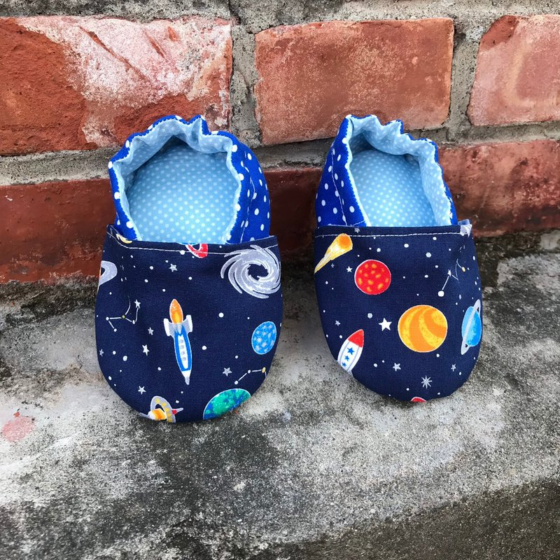 Starry sky - toddler shoes. baby shoes