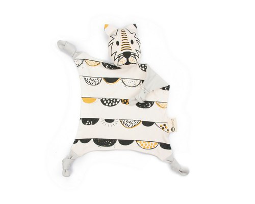 Australian Kippins Organic Cotton Soothing Towel – Darcy Tiger Dash KIPPIN*New Design*