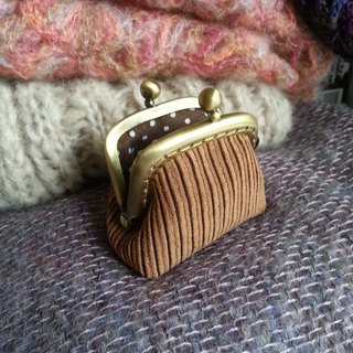 CaCa Crafts | mini corduroy mouth gold package