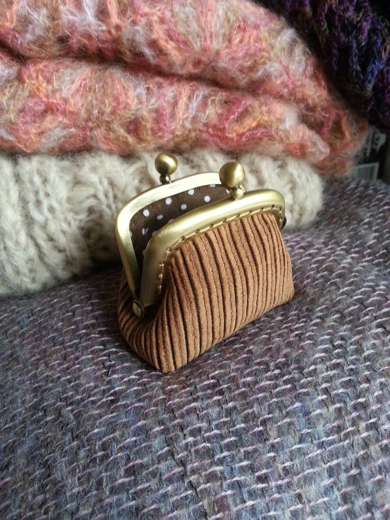 CaCa Crafts | Mini Corduroy Gold Bag