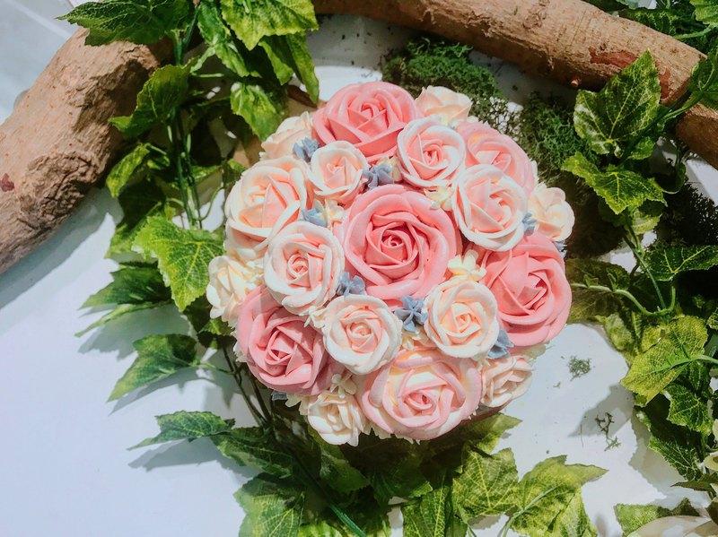 Felicitas Pâtissérie 6吋 玫瑰花蛋糕/花漾年華