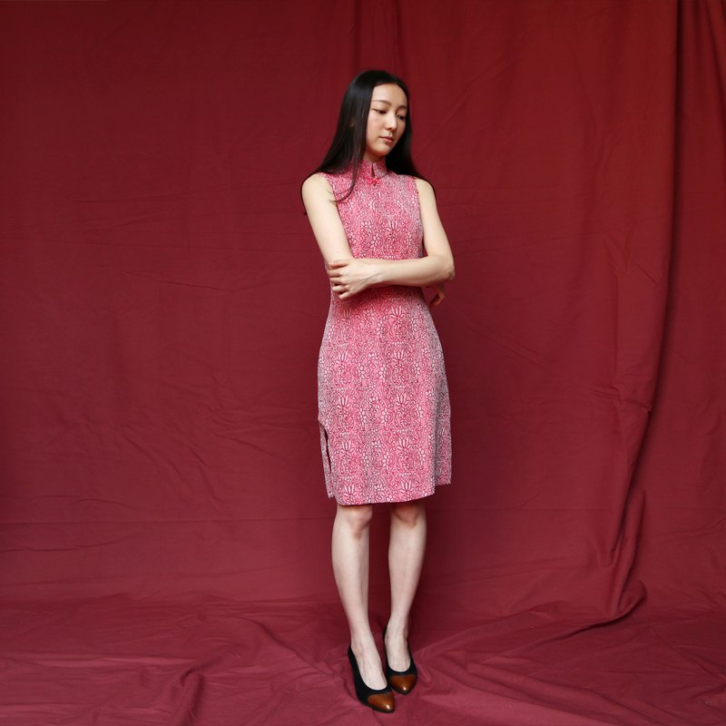 Pumpkin Vintage. Antique cheongsam