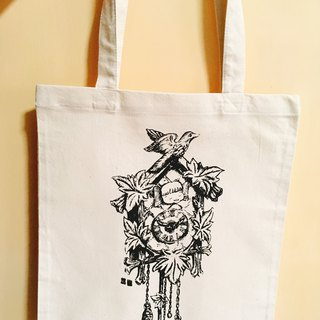Fat sister Mei Cuckoo Bell canvas bag
