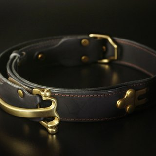 HEYOU Handmade - The Ranger Belt- Rangers belt (black)