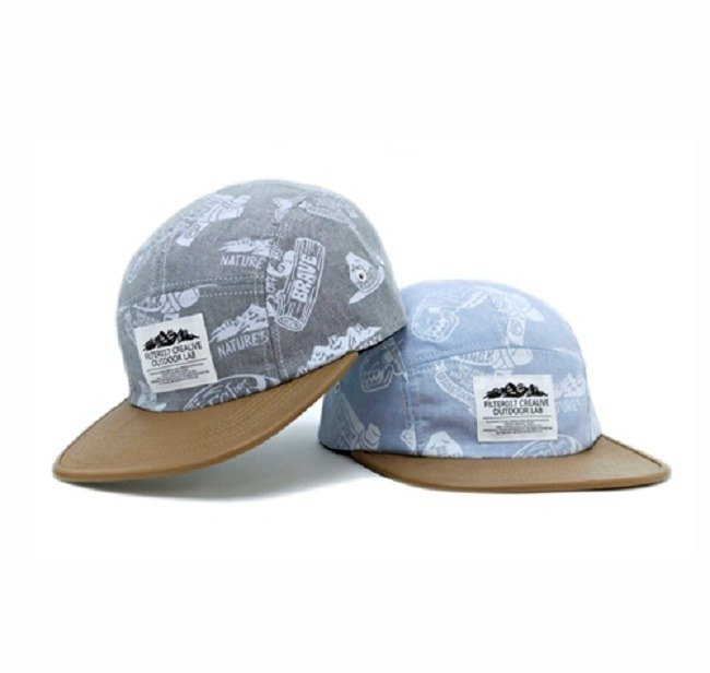 Filter017 Outdoor Pattern 5 Panel Cap Outdoor Graphics Five-part Camping