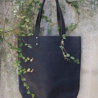 Leather Tote bag, Simple Leather Tote, Leather Shoulder bag