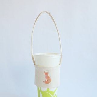 MaryWil Eco Cup Set Beverage Bag Lightweight - Little Fox