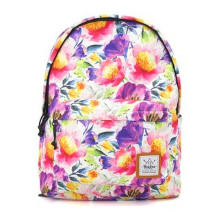 Floral Splash  Backpack