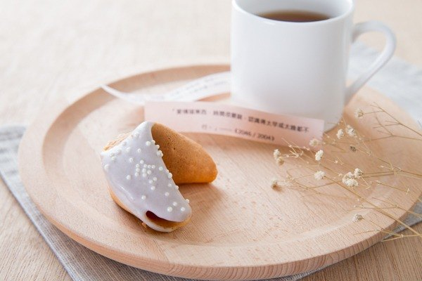 C.Angel fortune cookie [taro Discovering fortune cookie into 80 small objects on the table] wedding ceremony ❥ ❥ super delicious handmade custom to sign the text