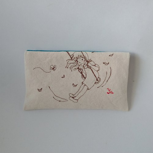 The beginning of the story 4---folding clutch, pencil case, storage bag