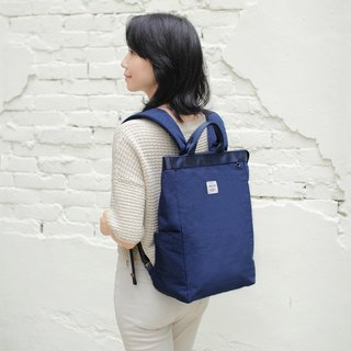 Prudence portable backpack(14'' Laptop OK)-Dark blue_100448-30