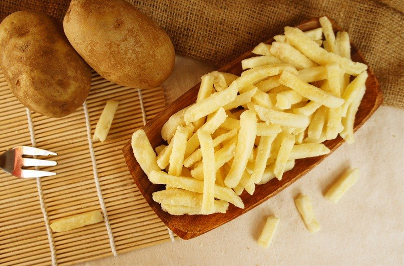 [afternoon snacks] Taiwan's strict selection of French fries brothers - mustard (120g / pack)