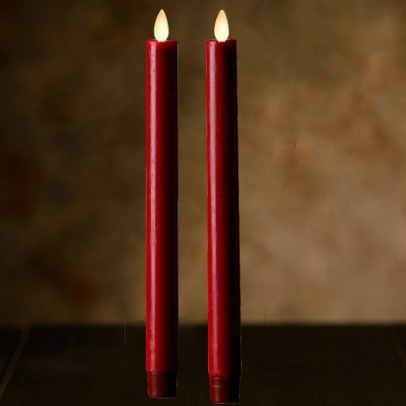 真真LED Candle Light 2pcs (M)