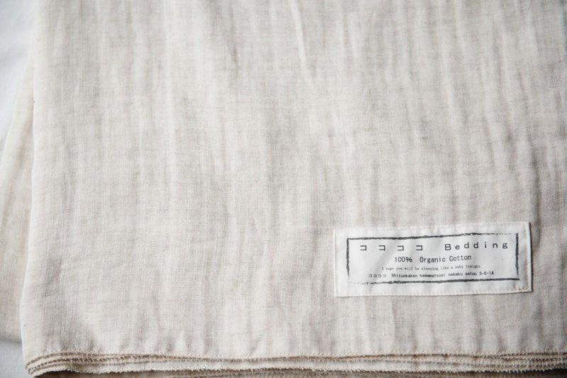 Organic Cotton and Linen W Gauze Sheets