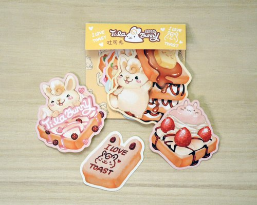 Styling Sticker Pack - Toast Rabbit