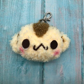 Monkey - chubby doodle animal key ring charm