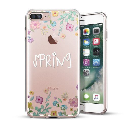 AppleWork iPhone 6/6S/7/8 Plus 原創設計保護殼 - Spring CHIP-056