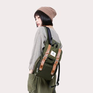 [Twin Series] 2018 Advanced Edition - Traveler Backpack (Small) - Nylon Army Green
