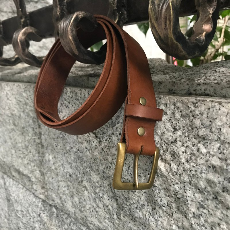 Copy Sienna leather cowhide leather belt
