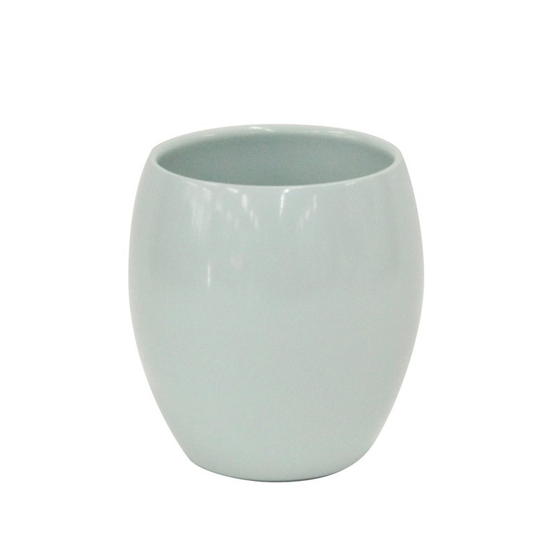 CB Japan Pink Beauty Double Stainless Steel Ceramic Cup 280ml Sky Blue