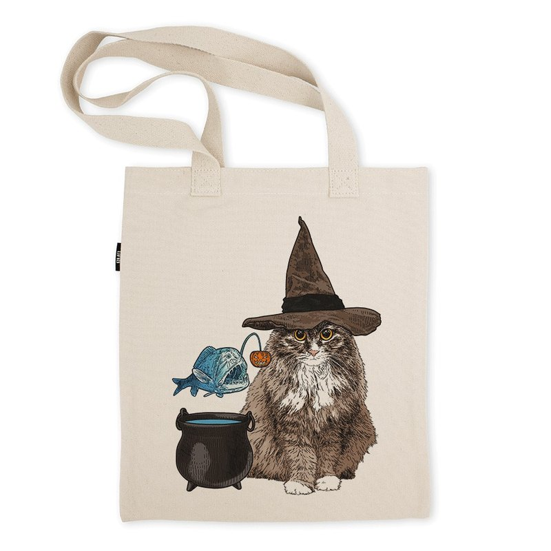 AMO®Original Tote Bags/AKE/The Cat Have A Pumpkin Fish
