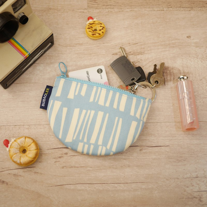 Smile Coin Purse ::: Geometric Lines