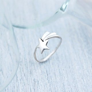 Meteor's wish (silver ring)