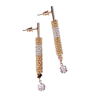 Gold - Lavish Drop Earrings